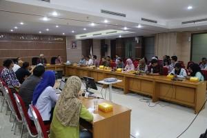 Dirjen Minerba Kementerian ESDM, Bambang Gatot Ariyono, dalam konferensi pers di kantor Kementerian ESDM, Jakarta, Rabu (4/7) pagi. (Foto: Tim ESDM)