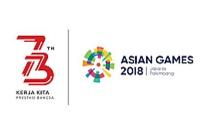 Logo 73 tahun RI dan Asian Games