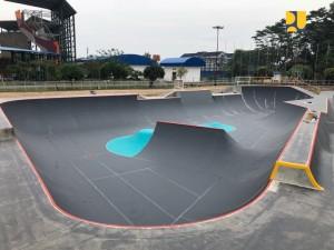 Salah satu venue Asian Games 2018. (Foto: Kementerian PUPR)