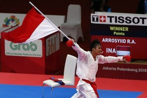 Rifki Ardiansyah Arrosyid earns gold medal for Indonesia