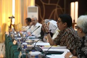 Seleksi Hakim MK di Gedung 3 Kemensetneg, Jakarta