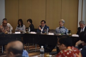 Cabinet secretary attends the 16th Asian Statesmen's Forum (ASF) at Pullman Hotel, Jakarta, Sunday (8/26). (Photo by: public Relations Division of Cabinet Secretariat/Oji)