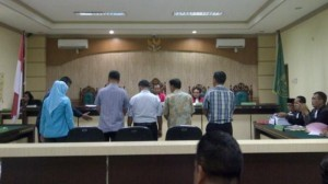 a civil servant stands trial on corruption charges. (Photo: IST)