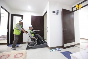 Preparation of Kemayoran athlete housing for Asian Para Games (Photo: Ministry of PUPR)