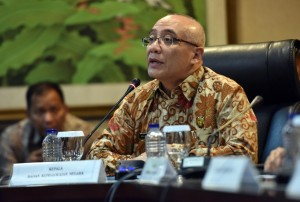 Kepala BKN Bima Haria Wibisana dalam keterangan pers di Gedung Bina Graha, Jakarta, Jumat (21/9) sore. (Foto: JAY/Humas)