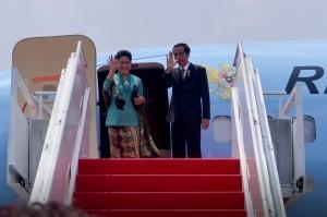 President Jokowi and First Lady Ibu Iriana Joko Widodo