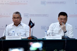 Minister of Villages, the Development of Underdeveloped Regions, and Transmigration in the 4-years Report on Joko Widodo-Jusuf Kalla Administration, Wednesday, (24/10) (Photo: PR/Oji)