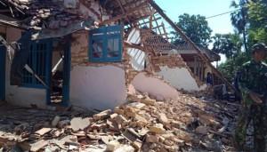 Rumah Rusak, Gempa Sumenep