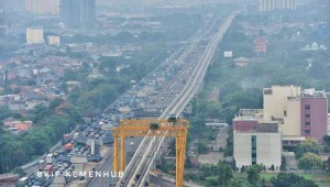 Suasana tol Jakarta-Cikampek. (Foto: Dokumentasi Kemenhub).