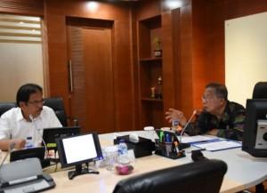 Menko Perekonomian Darmin Nasutin dan Menteri ATR/Kepala BPN dalam Komite Pengarah BPDP-KS di Jakarta, Senin (26/11) lalu. (Foto: Humas Kemenko Perekonomian)