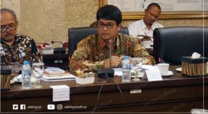 Deputi Bidang PMK BKN Haryomo bersama Deputi Bidang Administrasi Aparatur Kemensetneg Cecep Sutiawan, dalam acara di Wantimpres, Jakarta, Rabu (23/1) siang. (Foto: Humas BKN)