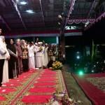 President Jokowi visits Al Baghdadi Islamic Boarding School, Rengasdengklok, Karawang, West Java, Saturday (19/1). Photo by: BPMI.