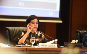Indonesian Minister of Finance Sri Mulyani Indrawati.