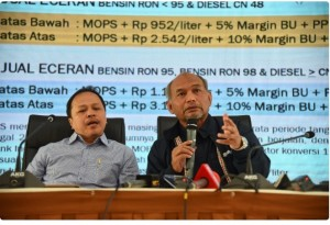 Director General of Oil and Gas of Ministry of Energy and Mineral Resources delivers press statement, Jakarta (10/2). (Photo by: Ministry of Energy and Mineral Resources' Public Relations).