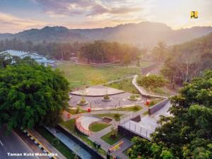 Kawasan Mandalika. (Foto: Kementerian PUPR)