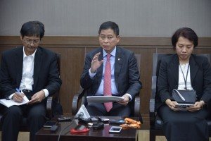 Minister of Energy and Mineral Resources Ignasius Jonan at a press conference in Jakarta on Wednesday (20/2). (Photo by: Ministry of Energy and Mineral Resources Public Relations).