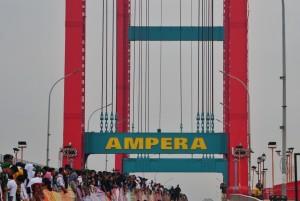 Jembatan Ampera Palembang tempat rencana deklarasi