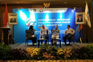 Thematic Forum of the Governmental Public Relations Coordination Board (Bakohumas) is organized by the Indonesian Ombudsman (ORI), at Aryaduta Hotel, Jakarta, Tuesday (23/4). (Photo by: Heni/PR)