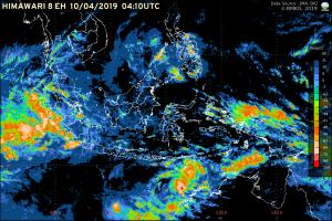 Satellite imagery from the BMKG website (illustration)
