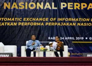 Coordinating Minister for the Economy attends National Taxation Seminar at STAN Campus, Tangerang, Banten, Wednesday (24/4). (Photo: PR)