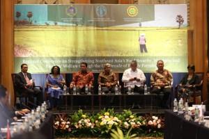 Konferensi Regional Penguatan Ketahanan Pangan di Jakarta, Kamis (4/4). (Foto: Kemlu).