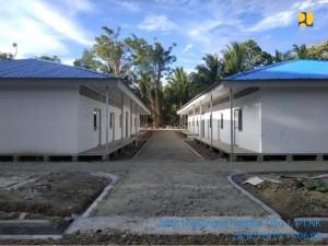 Rumah Hunian di Sulawesi Tengah. (Foto: Kementerian PUPR)