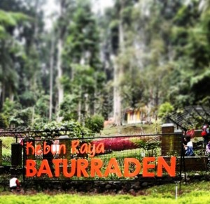 Kawasan Baturaden. (Foto: Kementerian PUPR)