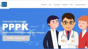 Kanal PPPK di website BKN.go.id