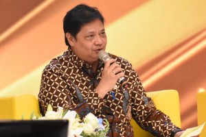 Minister of Industry Airlangga Hartarto. (Photo by: IST).