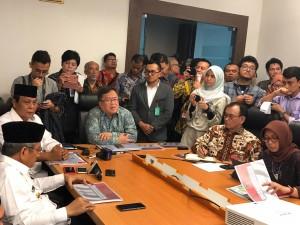 Menteri PPN/Kepala Bappenas Bambang Brodjonegoro dalam diskusi di Gedung Bina Graha, Jakarta, Senin (6/5) pagi. (Foto: Humas KSP)