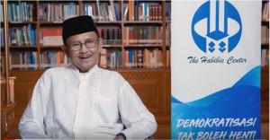 Presiden RI ke-3 Prof. Dr. Ing. BJ. Habibie sebagaimana diunggah oleh The Habibie Center di YouTuber, Minggu (19/5).