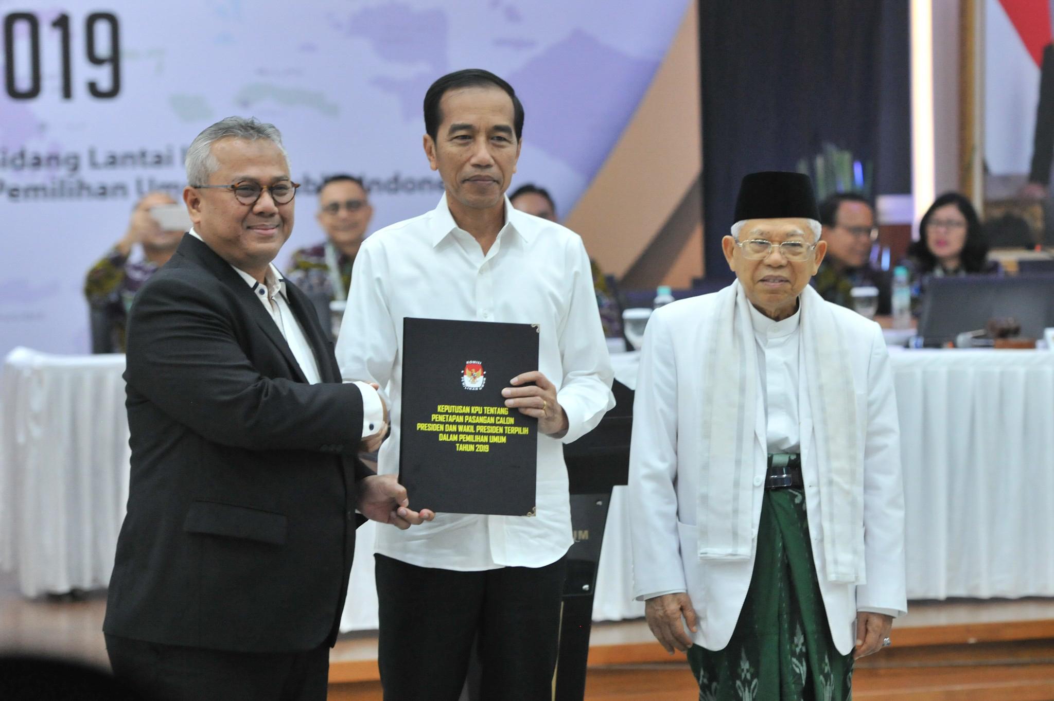 Sekretariat Kabinet Republik Indonesia Kpu Tetapkan Jokowi Ma Ruf Amin Jadi Presiden Dan Wakil Presiden Ri 2019 2024 Sekretariat Kabinet Republik Indonesia