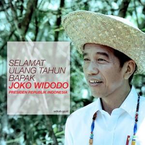 Selamat Ultah Pak Jokowi