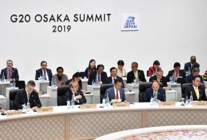 President Jokowi attends Third Session of G20 Summit in Osaka, Japan, Saturday (29/6). (Photo: BPMI)