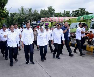 Presiden saat kunjungan ke Sulawesi Utara, Jumat (5/7). (Foto: BPMI)