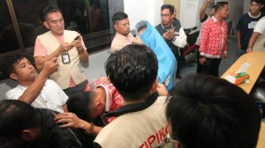 Sting Operation at the Regional Financial Management Agency (BPKD) Pematangsiantar, North Sumatra, several days ago. Photo by: IST