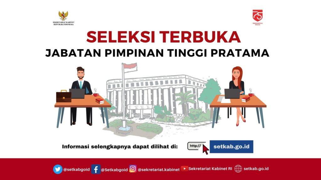 Sekretariat Kabinet Buka Seleksi 7 JPT Pratama 101