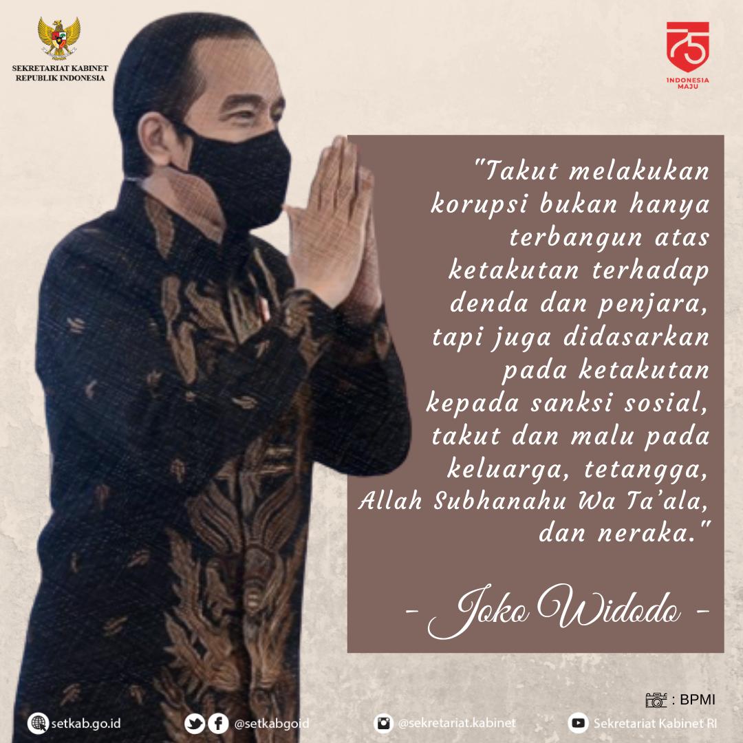 """Arahan Presiden Joko Widodo pada Kegiatan """"Aksi Nasional Pencegahan Korupsi"""""""