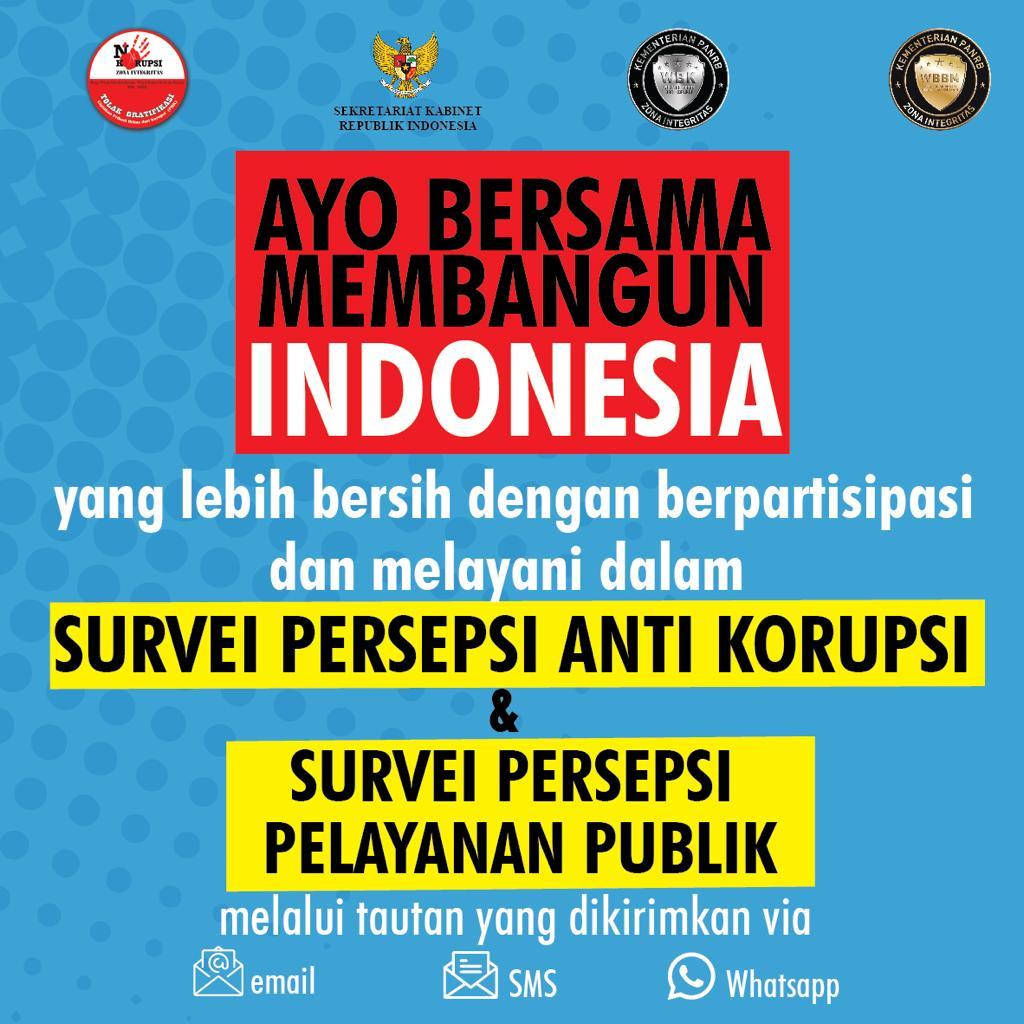Survei Persepsi Anti Korupsi dan Survei Persepsi Pelayanan Publik