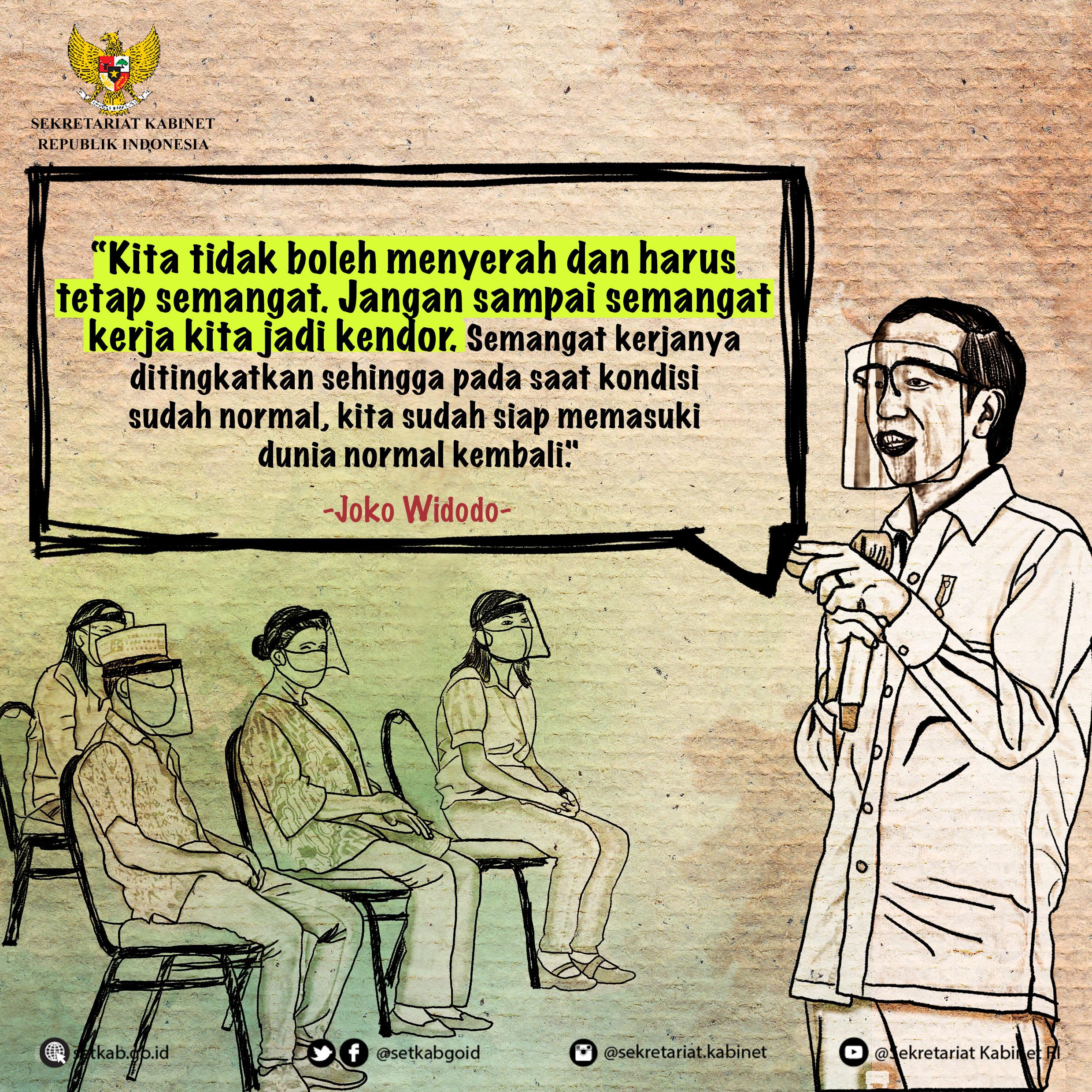 Arahan Presiden Joko Widodo saat Menyerahkan BMK di Labuan Bajo, Provinsi NTT, Kamis (1/10)