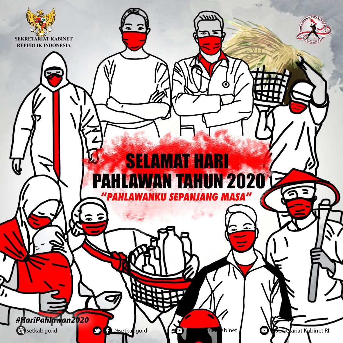 Peringatan Hari Pahlawan 2020