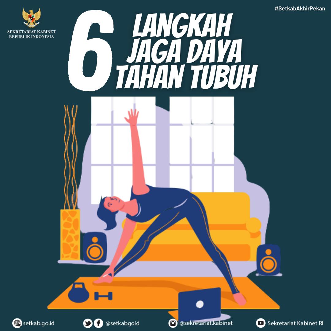6 Langkah Jaga Daya Tahan Tubuh