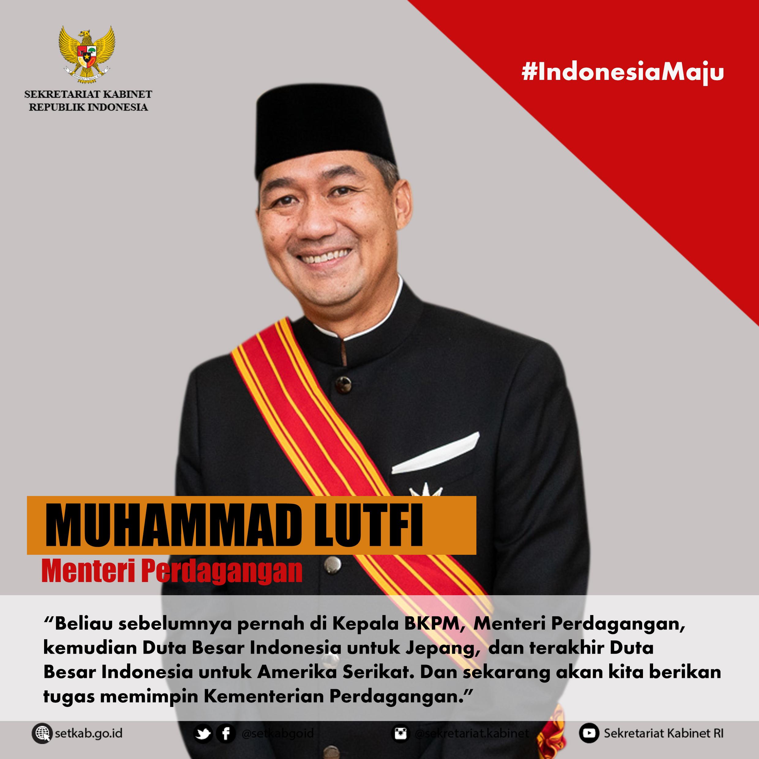 Profil Menteri Kabinet Indonesia Maju yang Dilantik pada Rabu (23/12/2020)