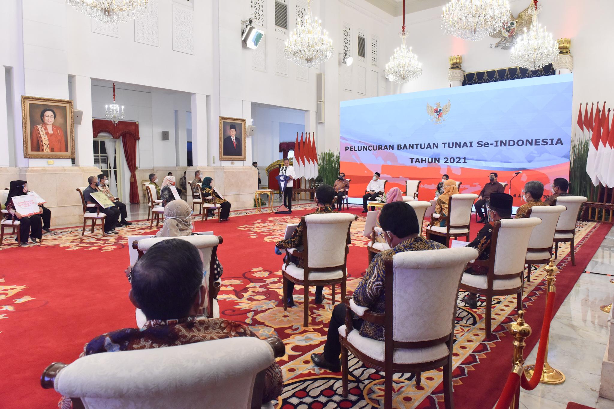 Peluncuran Bansos se-Indonesia