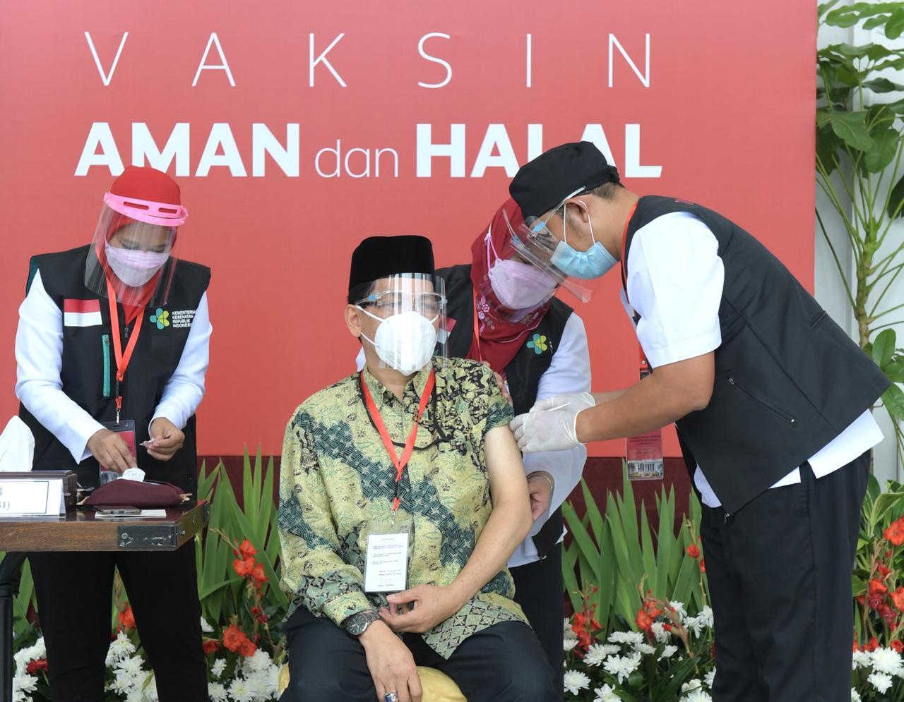 Sekretariat Kabinet Republik Indonesia | Vaksinasi COVID