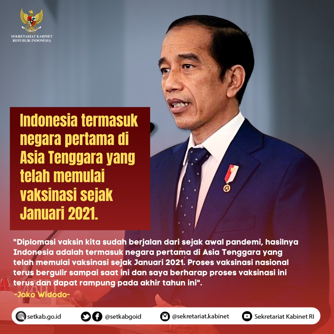 Pesan Presiden RI pada International Conference on Tackling The COVID-19 Pandemic, Health, Economic, Diplomacy and Social Perspective