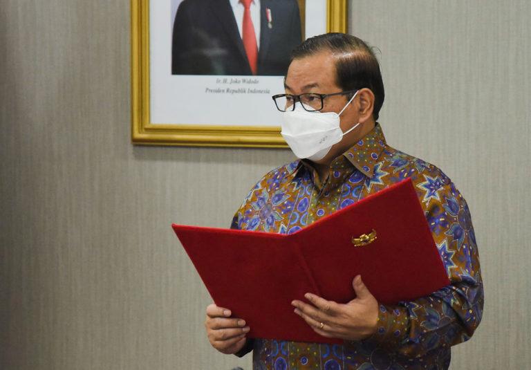 Pramono Anung - Pelantikan Pejabat Eselon I