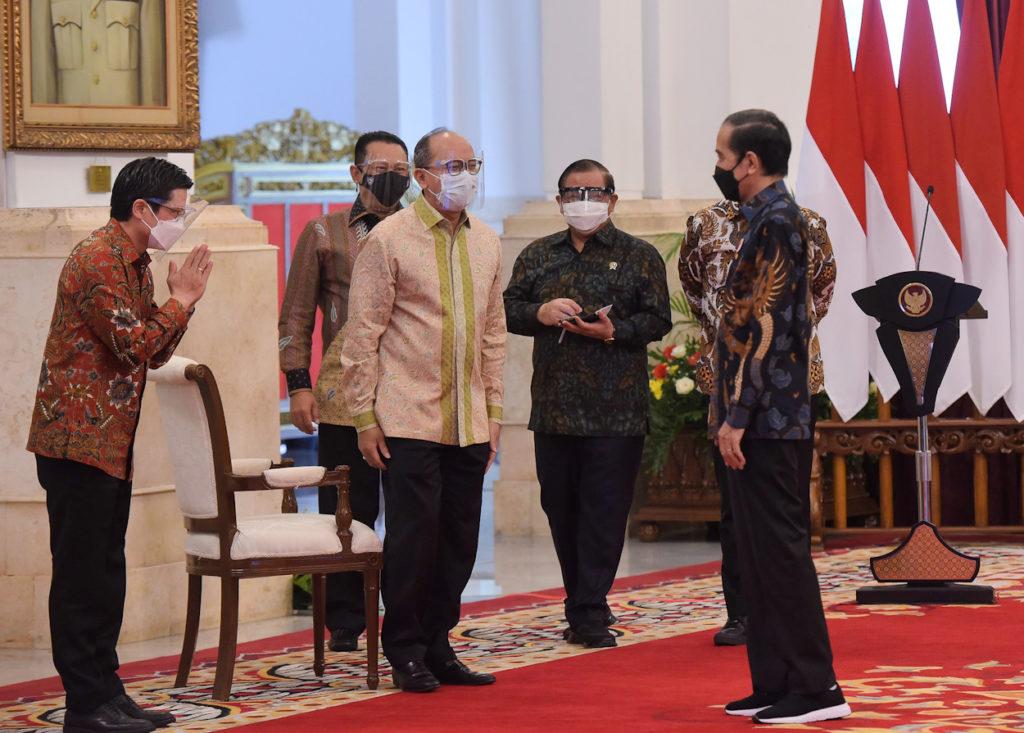 Presiden Jokowi Pembukaan IIMS 2021