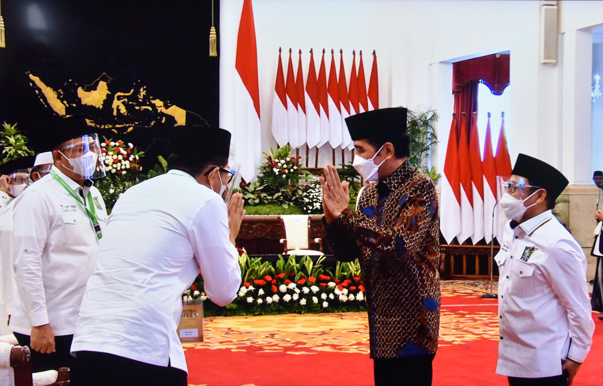 Jokowi Mukernas dan Munas Alim Ulama PKB