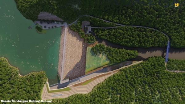 Desain Bendungan Budong-budong